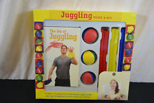 New juggling book & kit non-bounce balls scarf 1561#11