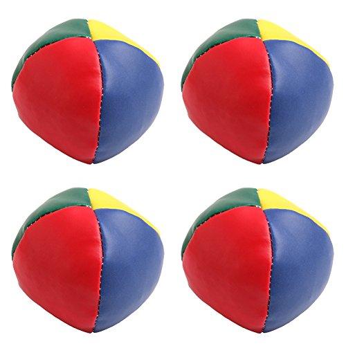 Jesse Juggling Balls Set Classic Bean Bag Juggle Magic Circus Kids Toy Gift New Pack of 4