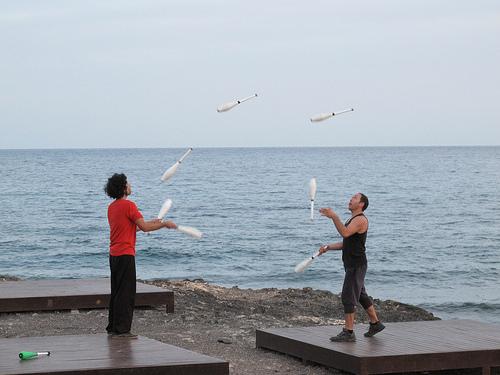 juggler grancan arinaga (Photo: Risager on Flickr)