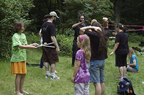 juggling baitcon (Photo: Tim Pierce on Flickr)
