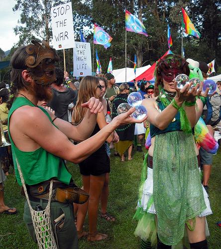party festival hippies protest hippy parade marijuana... (Photo: mardi_grass_2010 on Flickr)