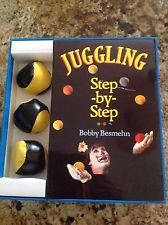 Juggling Step By Step Book Balls Bobby Besmehn FREE SHIP Circus Clown