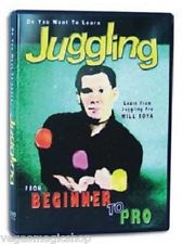 Learn Juggling Beginner to Pro DVD with Juggler Will Roya - Balls, Clubs, Rings