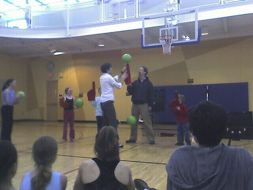 moblog annarbor balls spinning juggling ymca (Photo: *ejk* on Flickr)