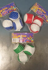 Mini Juggling Bean Bag Balls for Kid Child Small Learn How Juggle Sack Footbag