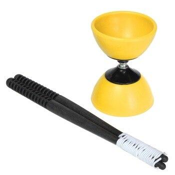 FBIL-Big Bowl Diabolo + Plastic Sticks - Chinese YoYo Juggling Toy Gift