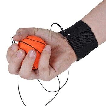 1Pc Return Sponge Rubber Hand Ball Game Exercises Bouncing Elastic Sport On Nylon String Children Kids Outdoor Toy Ball