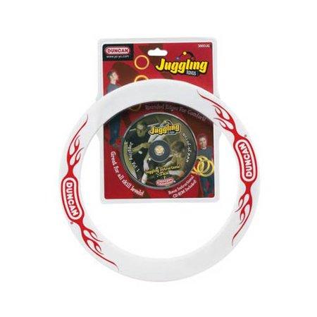 3860JG Juggling Rings w/CD-ROM (3) Multi-Colored