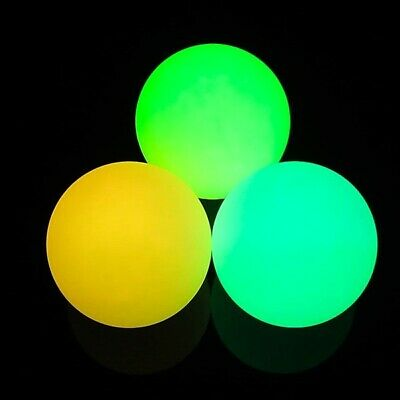 3 x Multi Function LED Glow Juggling Balls - Twist - Pro Light Up Juggling Balls