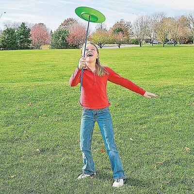 Adult Kids Spinning Juggling Plates Sticks Performance Prop Clown Circus Toy