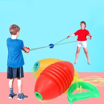 Zip Shuttle Ball Juggling Balls for Kids Sports Outdoor Toys For Children Sensory Play Buitenspeelgoed