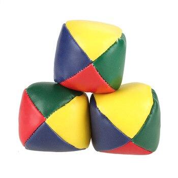 3Pcs/lot JUGGLING BALLS Learn to Juggle Beginner Kit Circus Outdoor Fun Children Kids Toy Balls Kids Interactive Toys