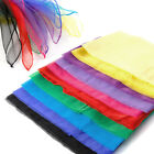 Square Juggling Silk Dance Scarves Magic Tricks Performance Props