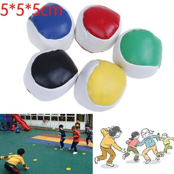 1pc Juggling Balls Set Classic Bean Bag Juggle Magic Circus Beginner Children Kids Toy Balls Kids Interactive Toys